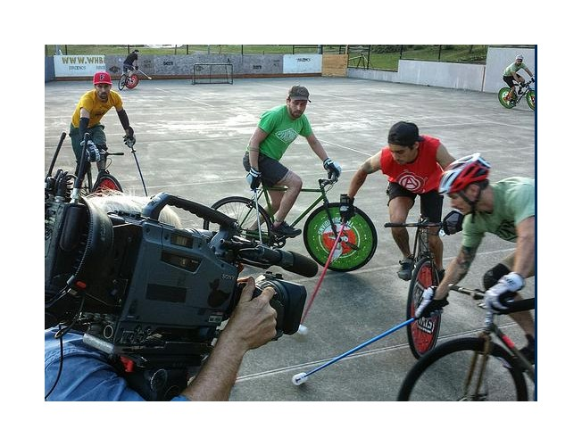 seattle bike polo king 5 news