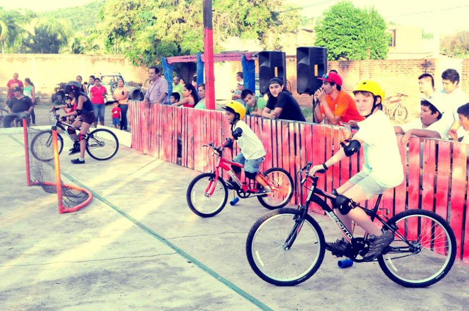 mexico bike polo school