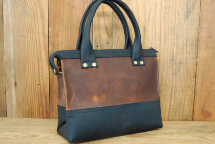 open hand leather goods